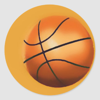 Basketball Artwork Sticker