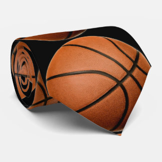 Basketball Artwork Tie