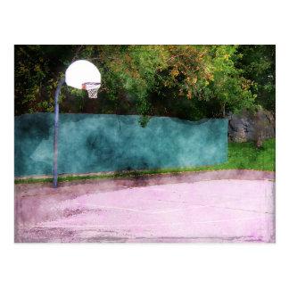 Basketball At The Park Postcard
