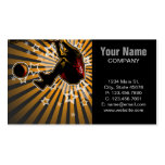Basketball Athlete Business Card Templates