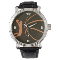 Basketball Athlete Wrist Watch