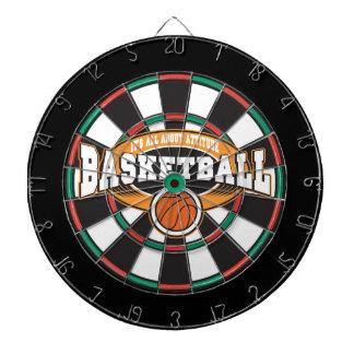 Basketball Attitude Dartboard