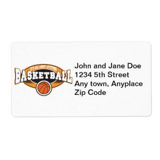 Basketball Attitude Label