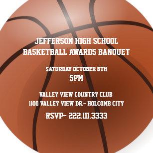 Sports Banquet Invitations Zazzle