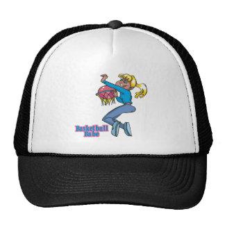 basketball babe girls basketball player trucker hat