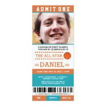 Basketball Bachelor Party Invites