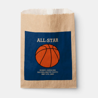 Basketball Bachelorette Party Favor Bags
