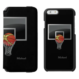Basketball Backboard Ball iPhone 6/6s Wallet Case