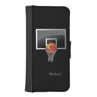 Basketball Backboard Ball iPhone SE/5/5s Wallet