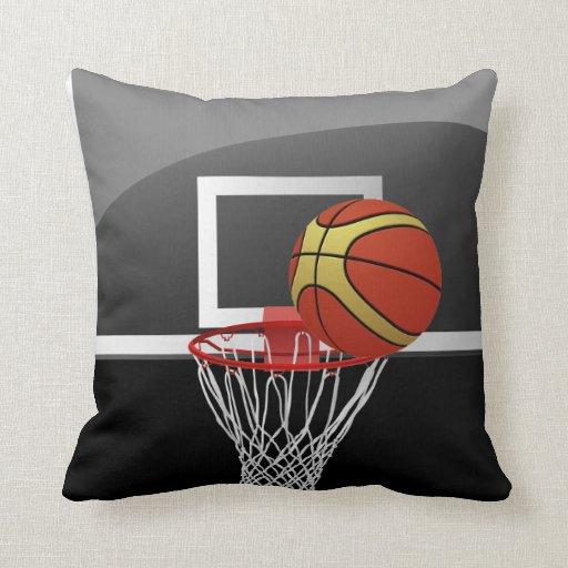 Basketball Backboard Ball Pillow