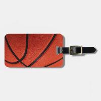 Basketball Bag Tag