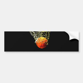 Basketball Ball Bumper Stickers