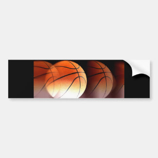Basketball Ball Bumper Sticker