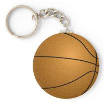 basketball ball keychain