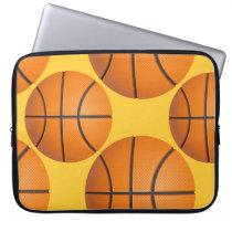 basketball ball laptop sleeve