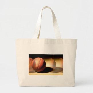 Basketball Ball Large Tote Bag