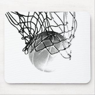 Basketball Ball Mouse Pad