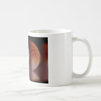 Basketball Ball Classic White Coffee Mug