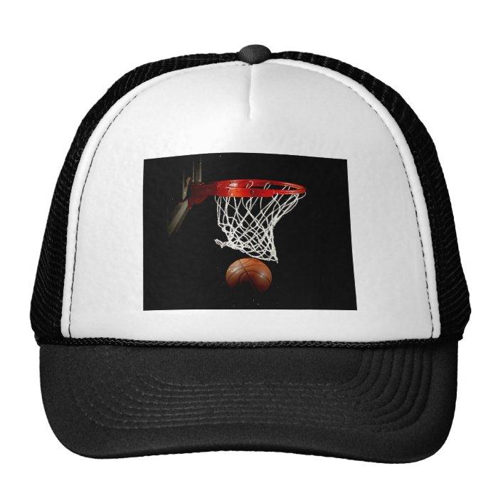 Basketball Ball & Net Trucker Hat