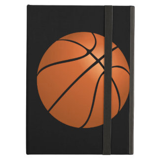 Basketball Ball on Black Background iPad Air Cover