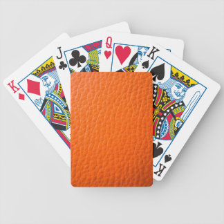 Basketball ball pattern bicycle poker cards