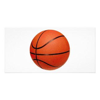 Basketball Ball Personalized Photo Card
