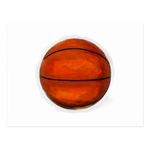 Basketball Ball Postcard