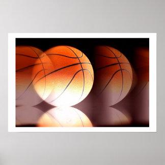 Basketball Ball Poster Print