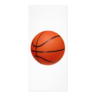 Basketball Ball Rack Card