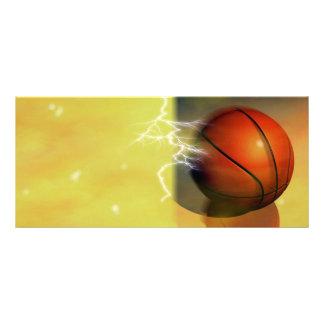 Basketball Ball Rack Cards