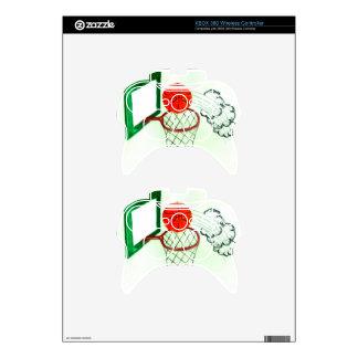 Basketball Ball Sketch2 Xbox 360 Controller Decal