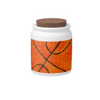 Basketball Ball Sketch3 Candy Dish