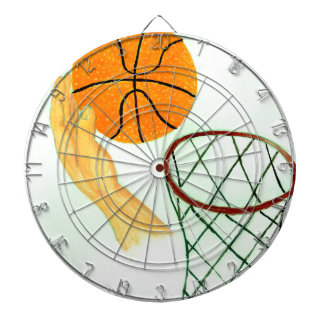 Basketball Ball Sketch Dartboard
