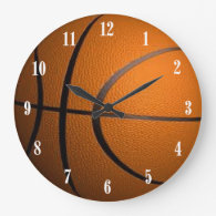 Basketball Ball Sport Wall Clock