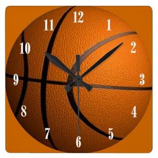 Basketball Ball Sport Wall Clock