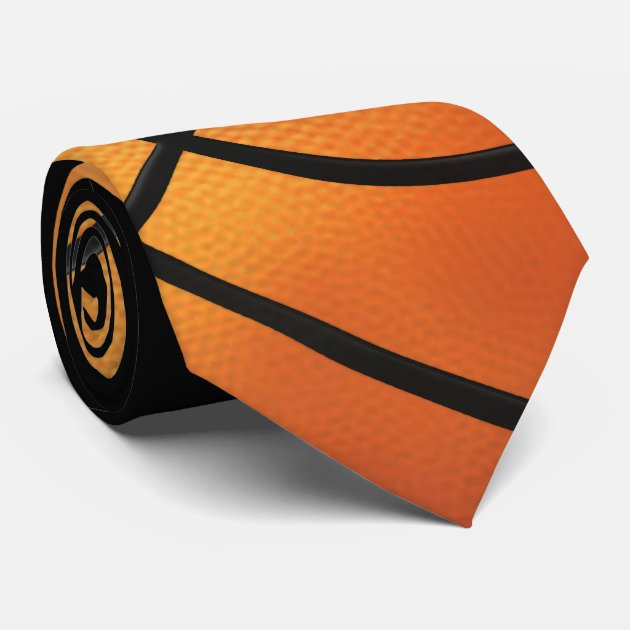 basketball sports gift tie zazzle