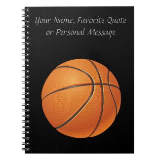 Basketball Ball, Team Sport Spiral Notebook
