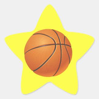 Basketball Ball, Team Sport Star Sticker