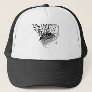 Basketball Ball Trucker Hat
