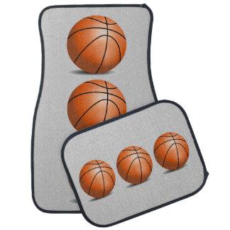Basketball Ball with Shadow Sports Fan Car Mat