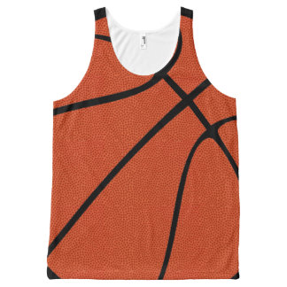 Basketball Ballers All-Over Print Tank Top
