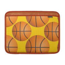 basketball balls MacBook sleeve