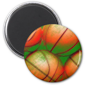 Basketball Balls Magnet