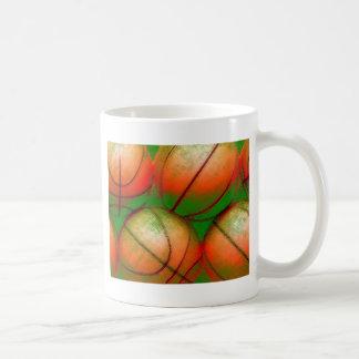 Basketball Balls Classic White Coffee Mug