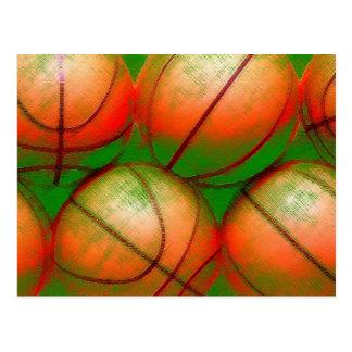 Basketball Balls Postcard