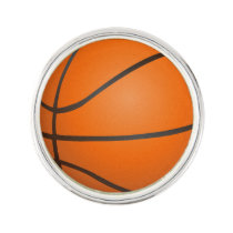 Basketball Balls Sports pattern Pin