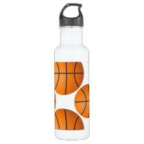 basketball balls stainless steel water bottle