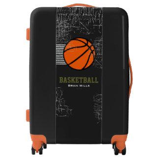 basketball / basket-ball orange ball cool luggage