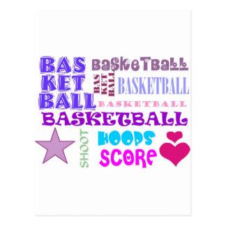 BASKETBALL-BASKETBALL-BASKETBALL-10x10 Postcard