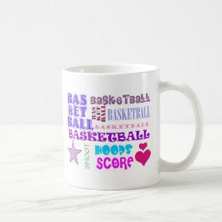 BASKETBALL-BASKETBALL-BASKETBALL-10x10 Taza